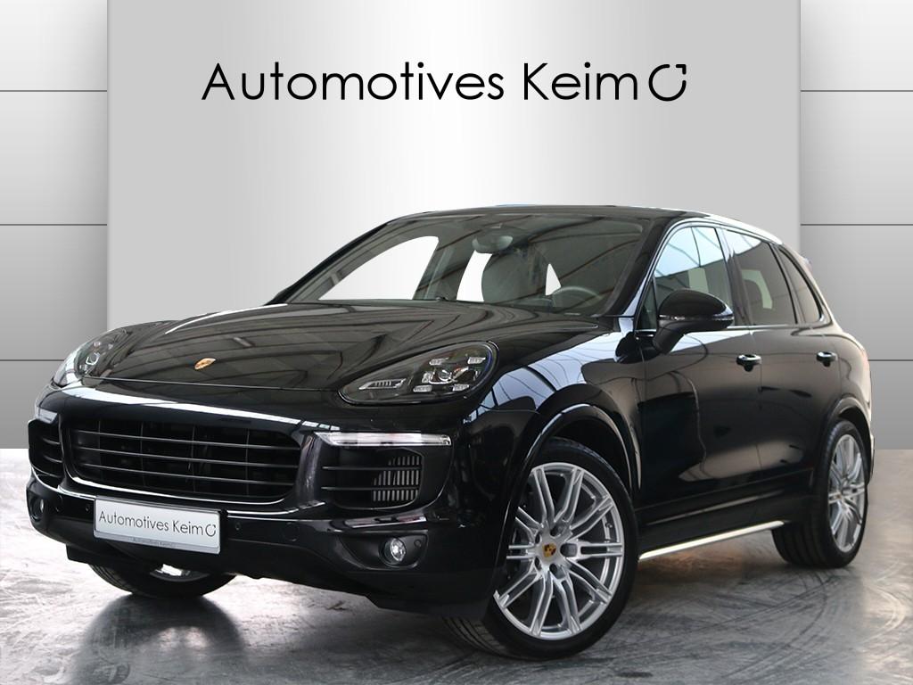 PORSCHE Cayenne Diesel Platinum Edition LUFT LED el.AHK PANO