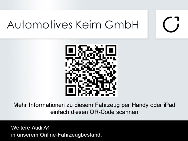 Audi A4 Automotives Keim GmbH 63500 Seligenstadt Www.automotives Keim.de A101390 03